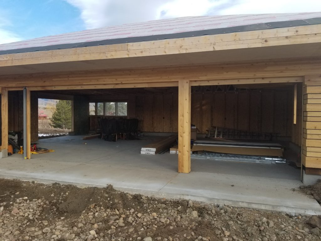 Before Garage Doors and Openers Installed in Boulder, CO