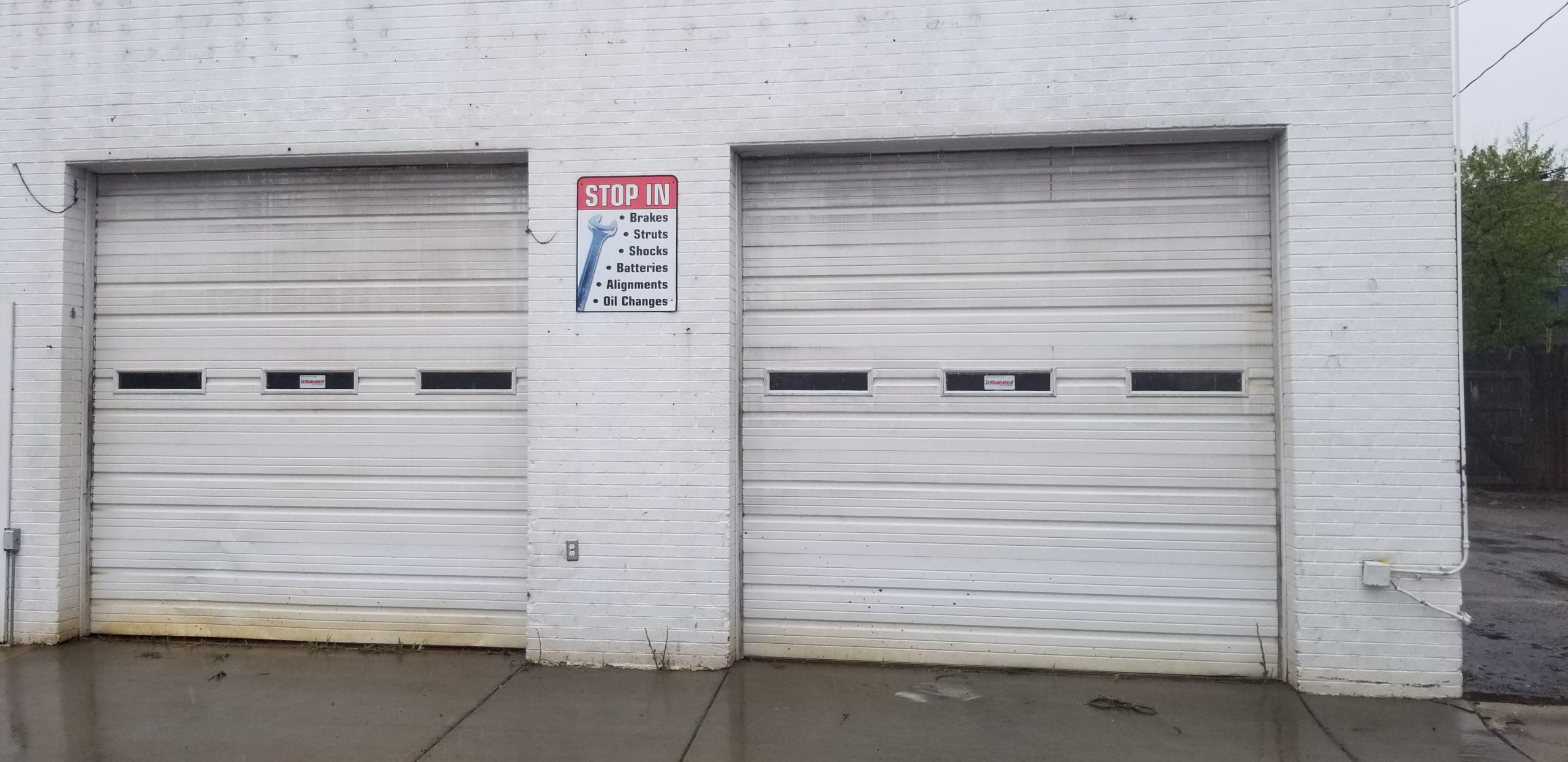 10 by 10 Garage Door Installation