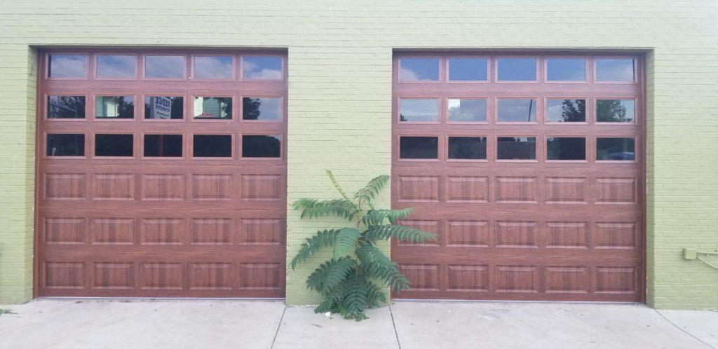 New 10 x 10 Garage Door After Installation